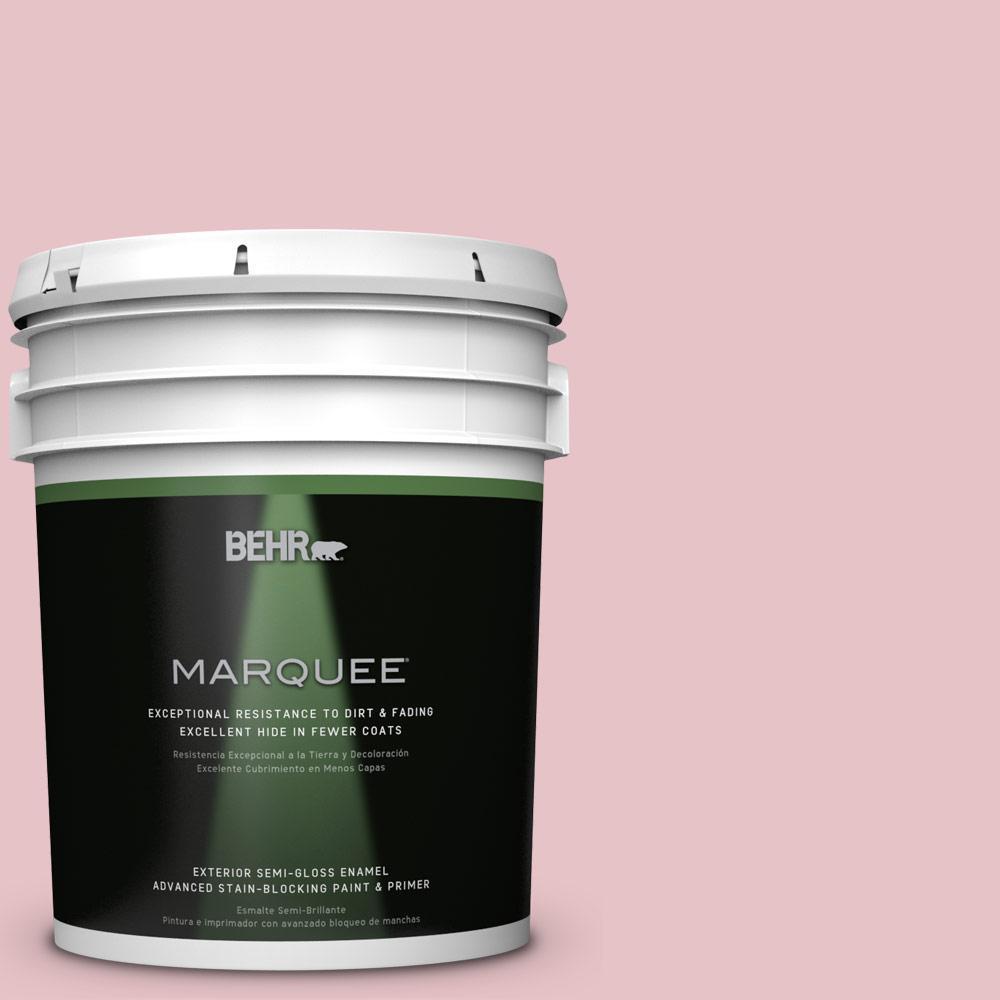 5-gal. #S140-2 Cranapple Cream Semi-Gloss Enamel Exterior Paint