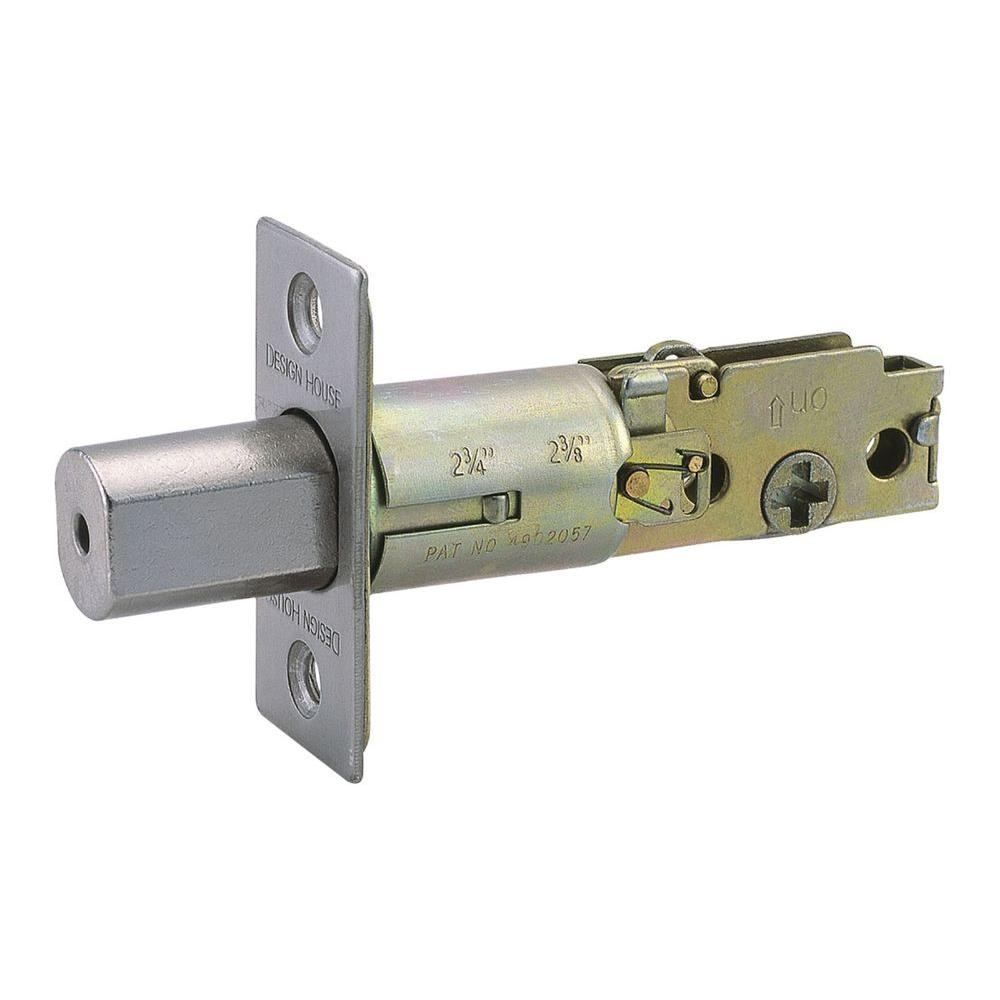 Satin Nickel 2-Way Replacement Deadbolt Latch
