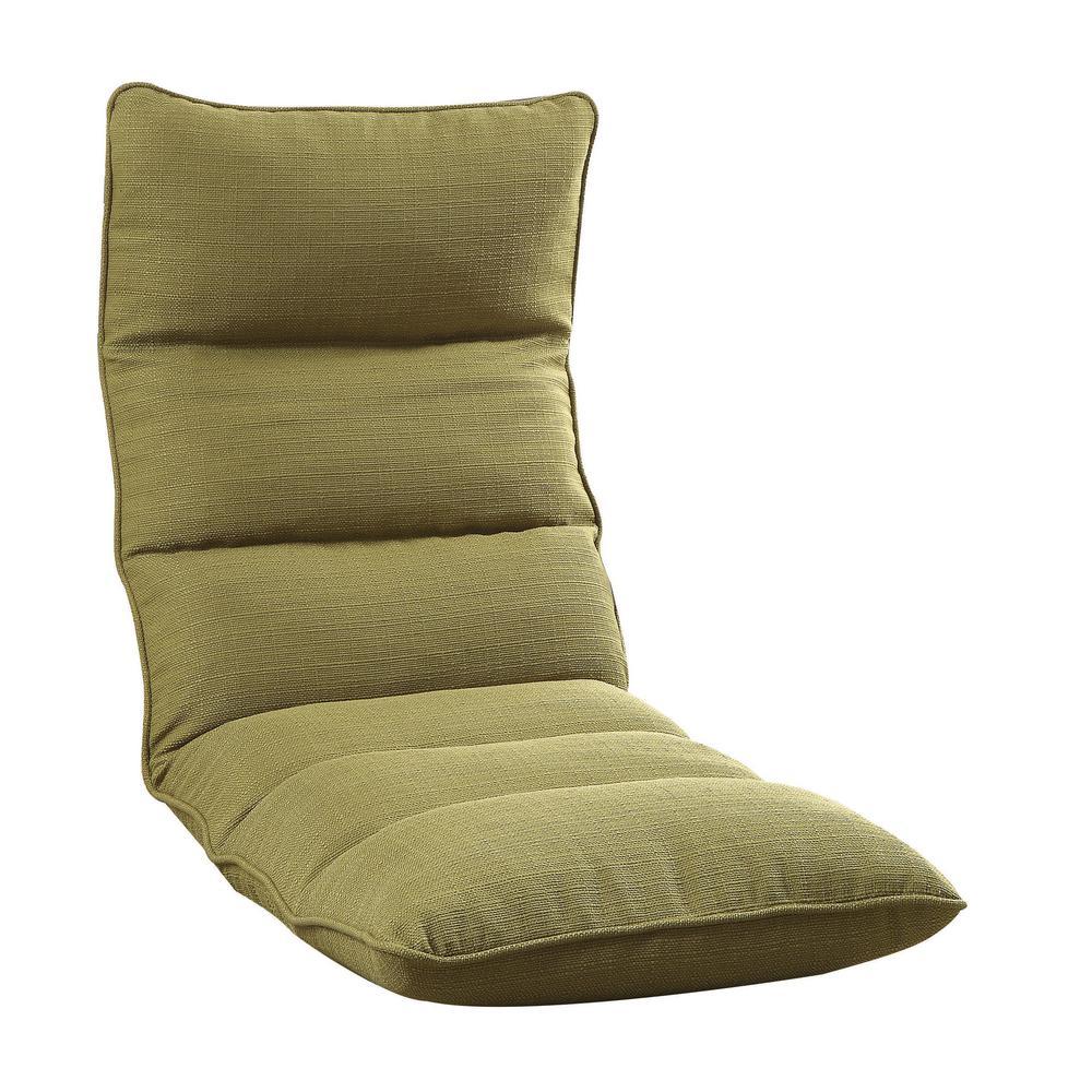 ACME Furniture Morris Green Gaming Floor Chair  sc 1 st  The Home Depot & ACME Furniture Morris Green Gaming Floor Chair-59600 - The Home Depot