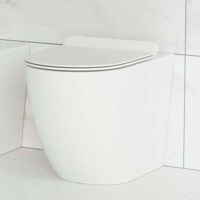 St. Tropez Elongated Toilet Bowl Only in Glossy White
