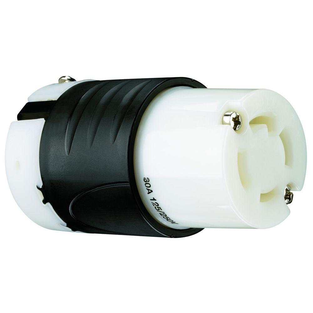 Legrand Pass and Seymour 30 Amp 125/250-Volt Locking Connector