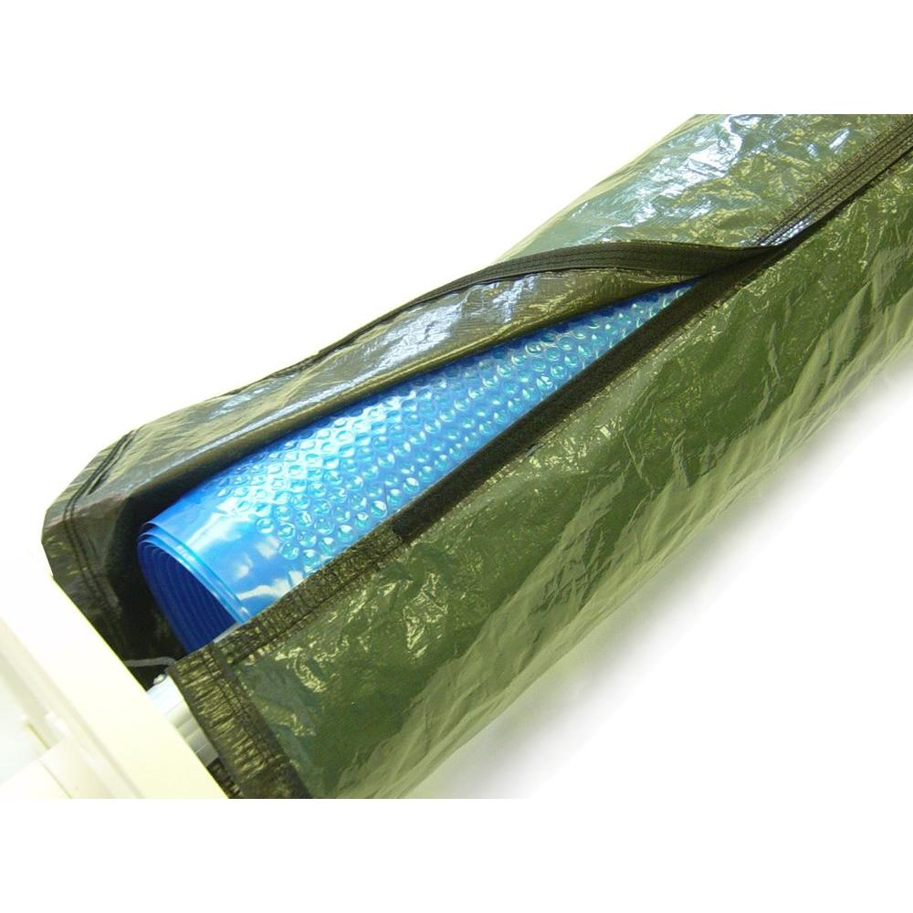 Solar Blanket Winter Cover For Swimming Pool Solar Roller Reel Up To 24/' Wide