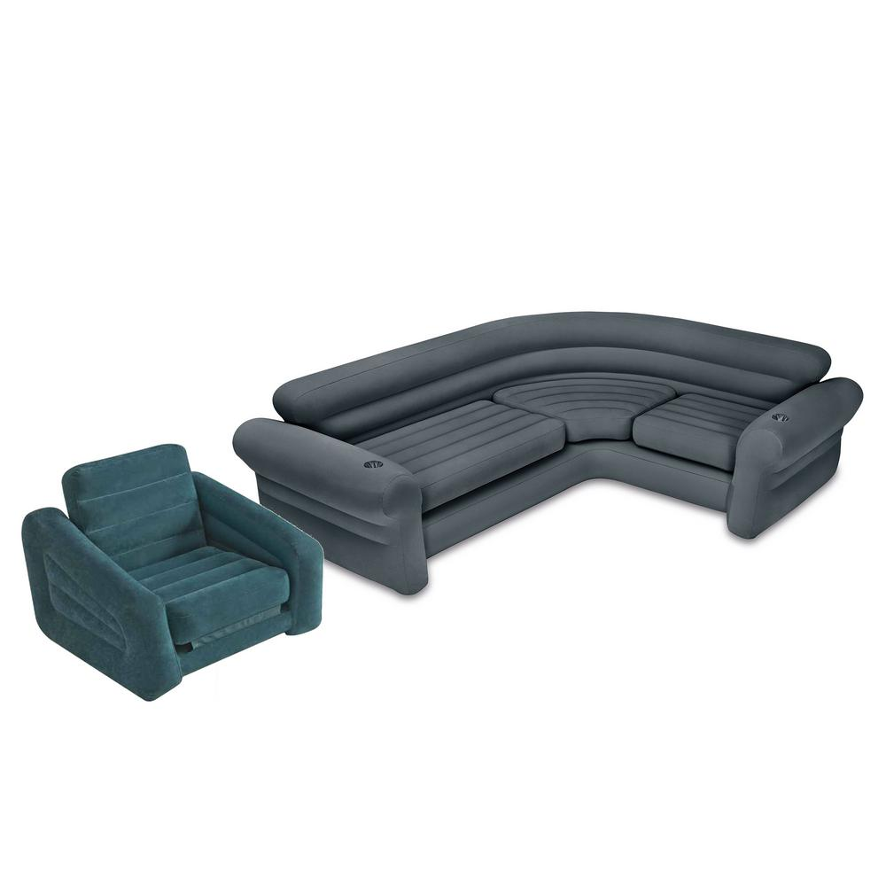 Inflatable Corner Couch Sectional Sofa