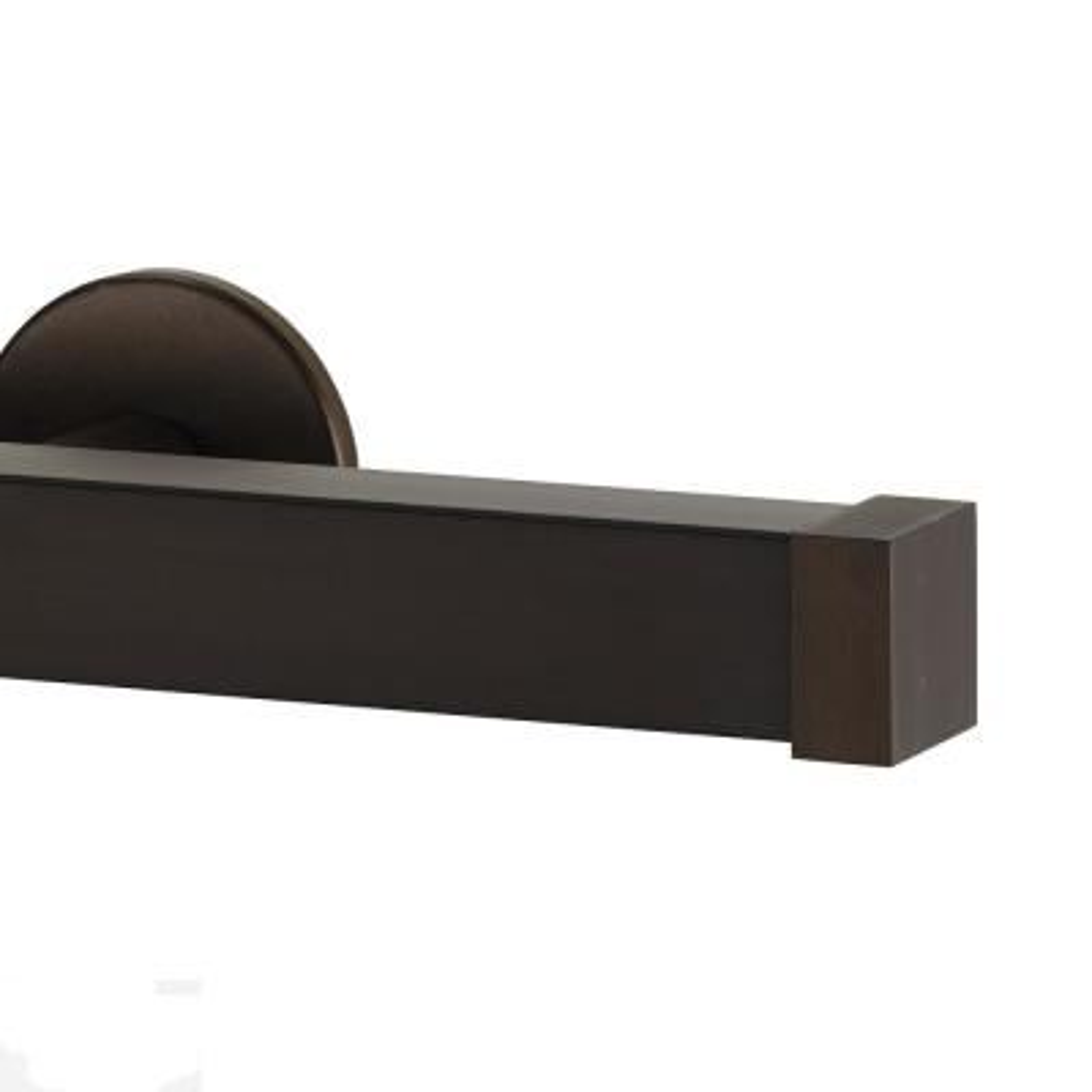 Nexgen 84 in. Non-Adjustable Traverse Window Curtain Rod Set in Bronze with Endcap
