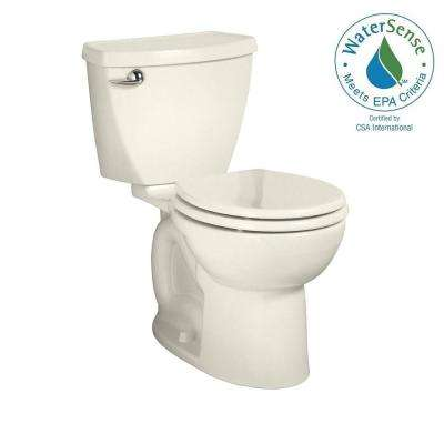 Cadet 3 Powerwash Tall Height 2-piece 1.28 GPF Round Toilet in Linen