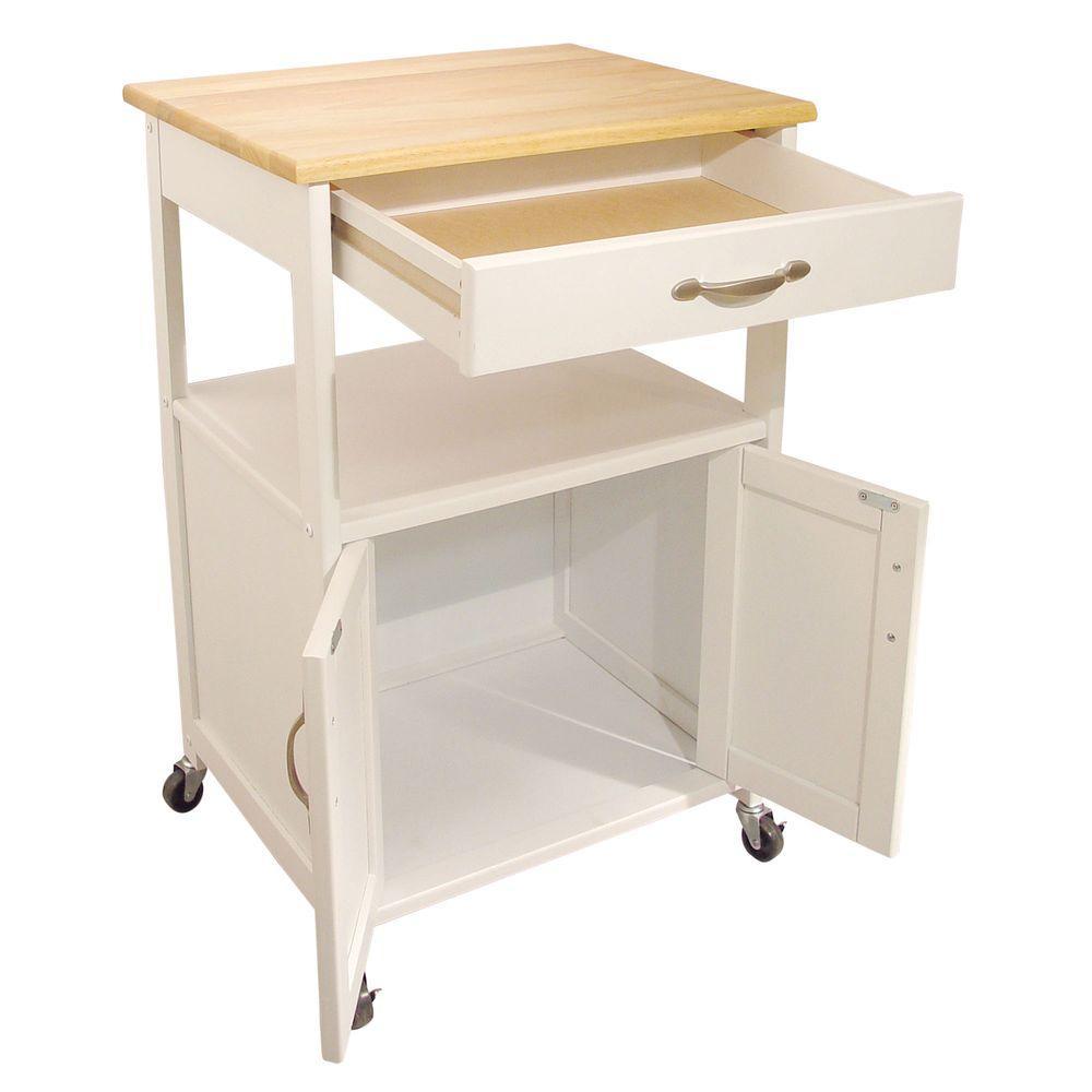So Sku 1001054634 Catskill Craftsmen Cottage White Kitchen Cart