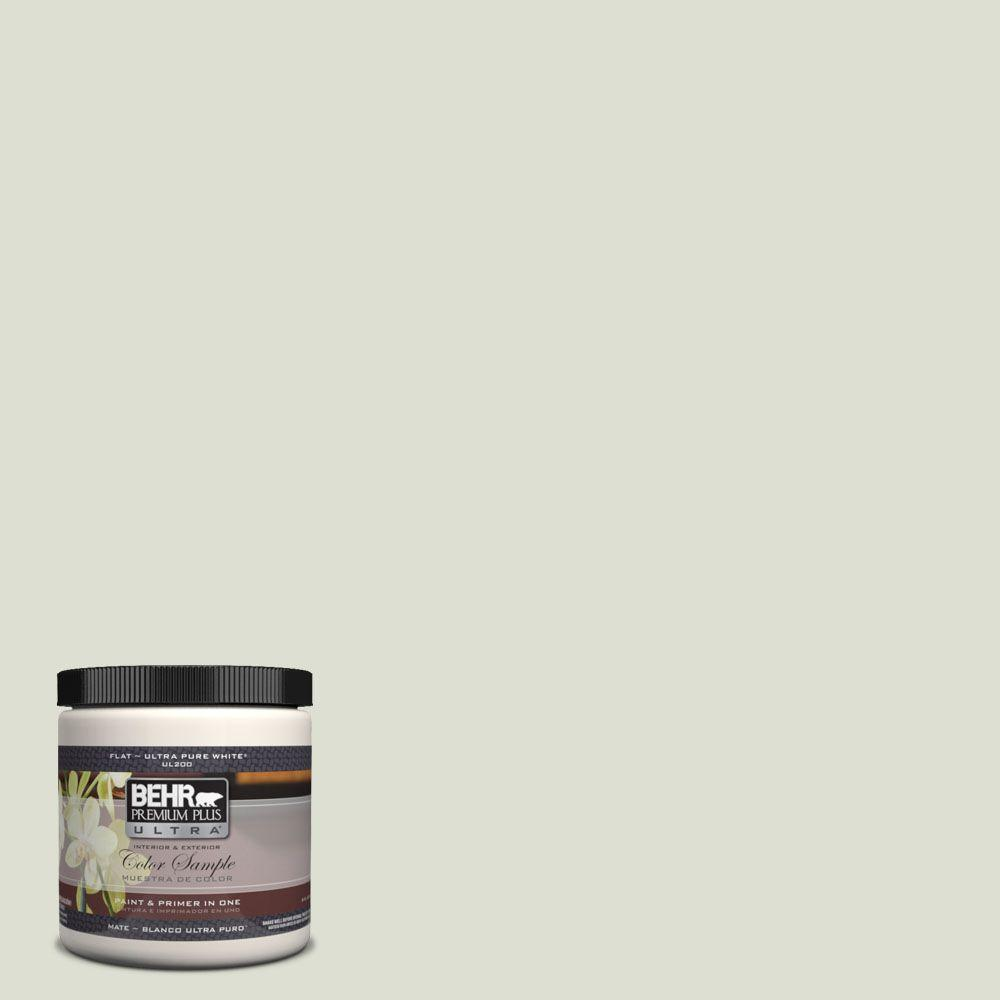Behr Premium Plus Ultra 8 Oz Ul210 10 Whitened Sage Matte Interior