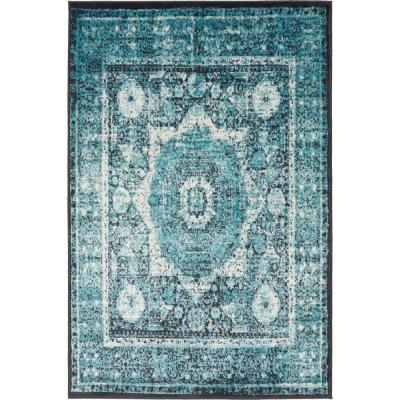 Imperial Lygos Turquoise 4' 0 x 6' 0 Area Rug
