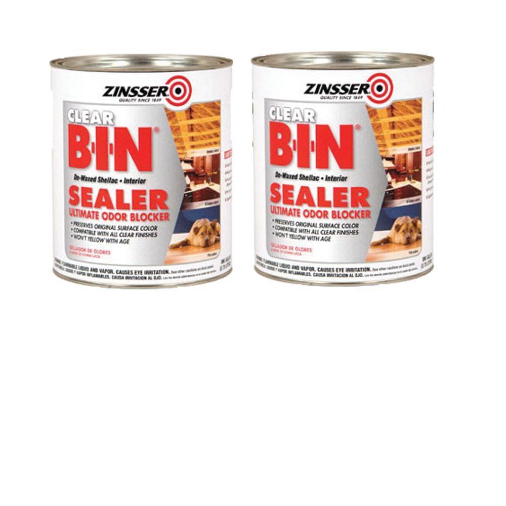 Zinsser B-I-N 1 Qt. Primer Sealer (2-Pack)-DISCONTINUED