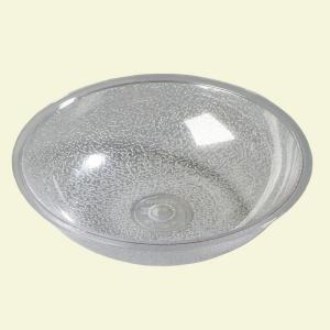 Click here to buy Carlisle 19.2 oz., 6.75 inch Diameter Polycarbonate Round Salad Bowl in Clear (Case of 12) by Carlisle.