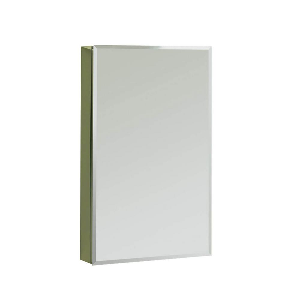 Recessed Or Surface Mount Medicine Cabinet In