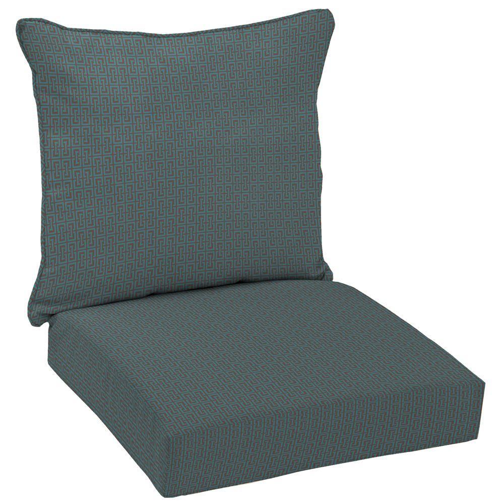 Arden Mitsu Key Boxwood 2-Piece Outdoor Deep Seating Cushion-DISCONTINUED