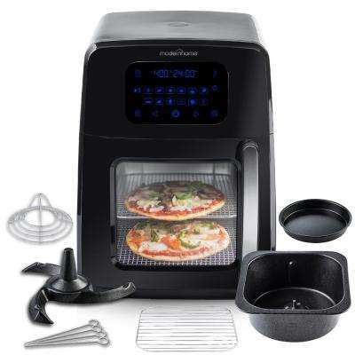 8 Qt. Air Fryer Oven with Auto-Stirring, Full Accessory Set with Racks, Pans and 12-Cooking Presets, Recipe Book