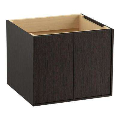 Jute 24 in. Vanity Cabinet Only in Satin Oak