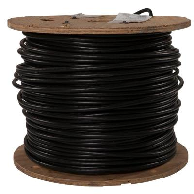 1,000 ft. 3/0 Black Stranded AL XHHW Wire