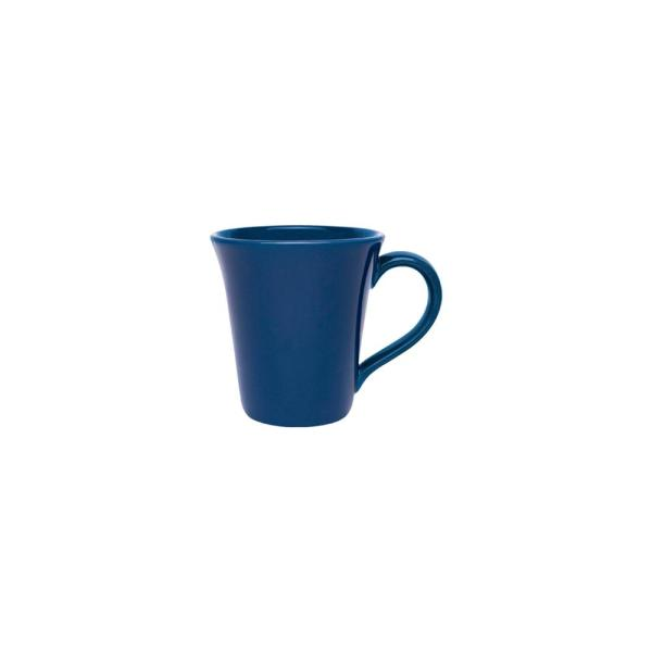 Floreal 11.16 oz. Blue Earthenware Mugs (Set of 6)