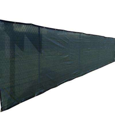 96 in. H x 600 in. W  Polyethylene Dark Green Privacy/Wind Screen Garden Fence