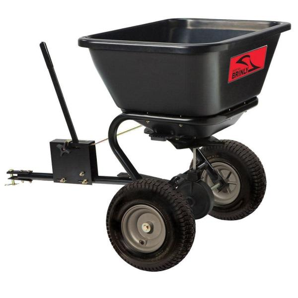 125 lb. 2.5 cu. ft. Tow Behind Broadcast Spreader