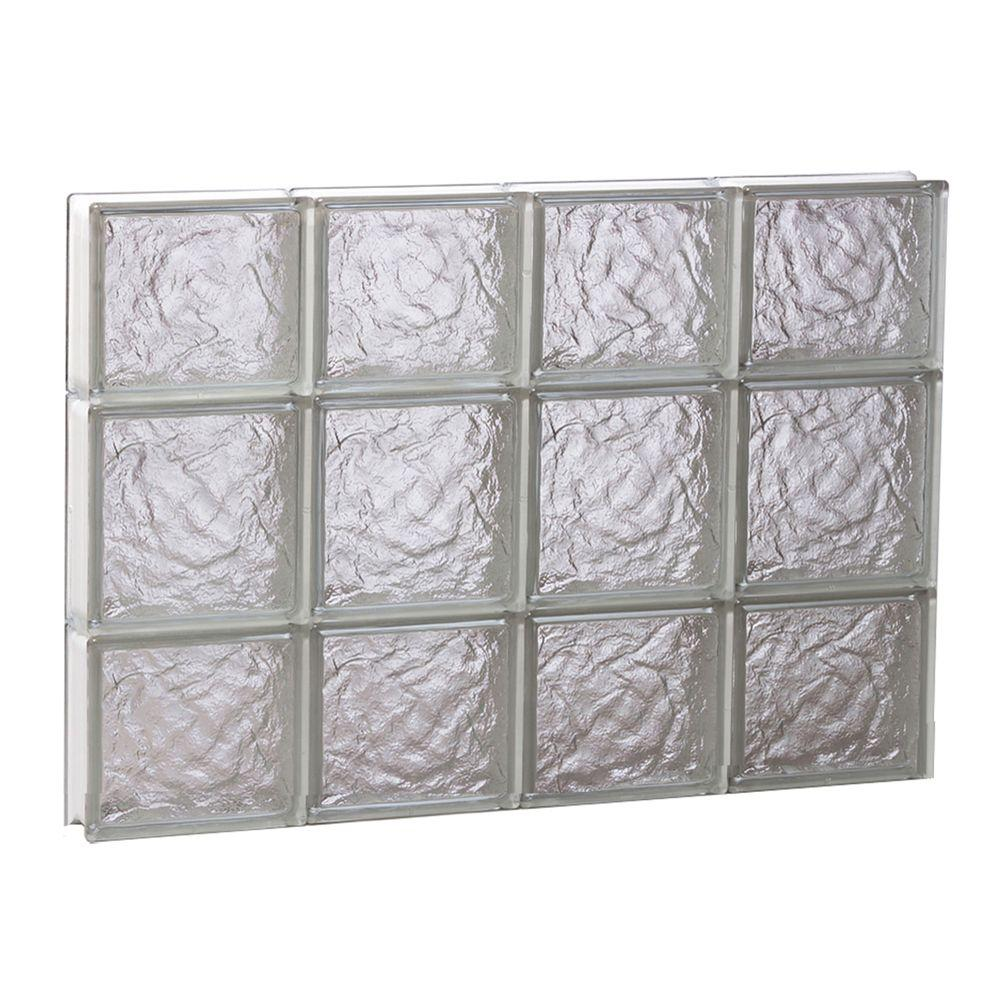 Clearly secure 31 in x in x in non vented for Acrylic block windows