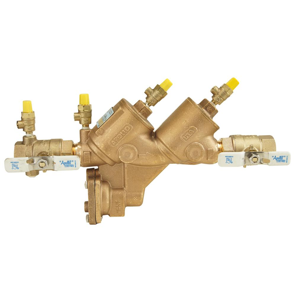 1 in. Lead Free Bronze FIP Reduced Pressure Backflow Preventer