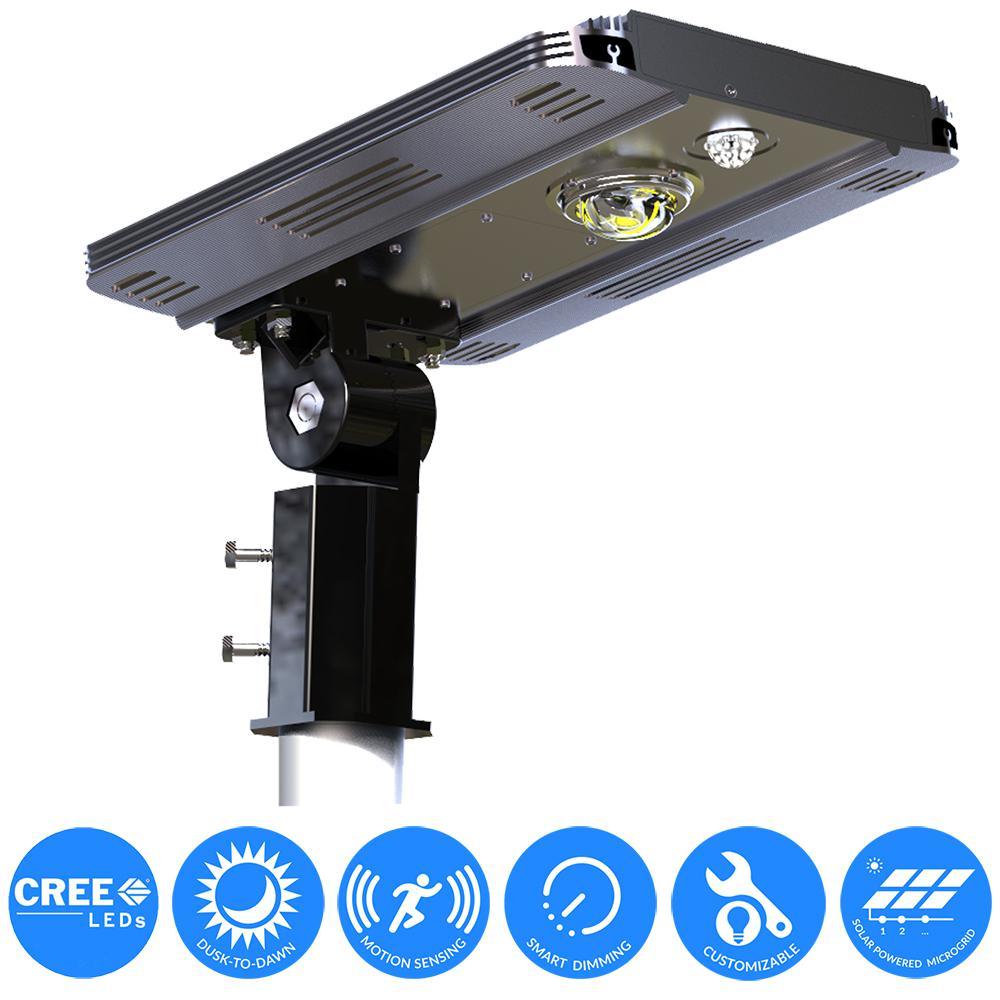 eLEDing Solar Power SMART LED Street Light for Commercial and ...