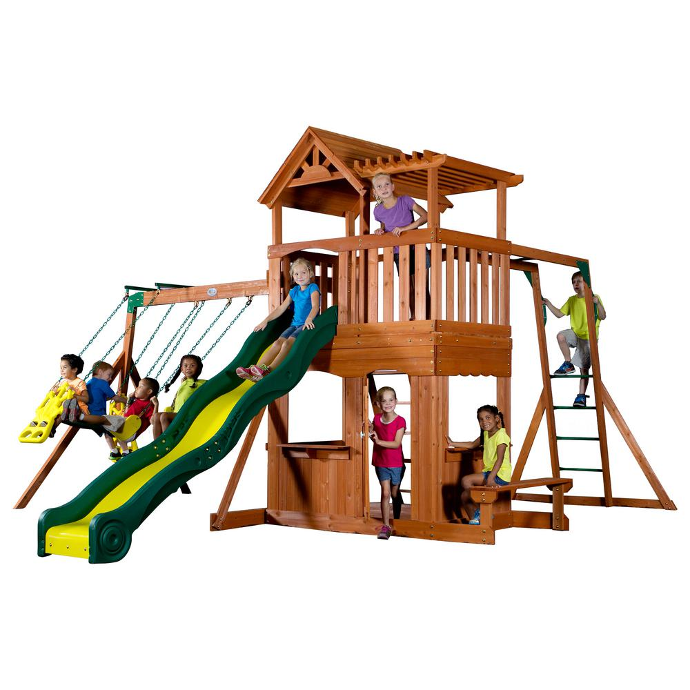 Thunder Ridge All Cedar Playset