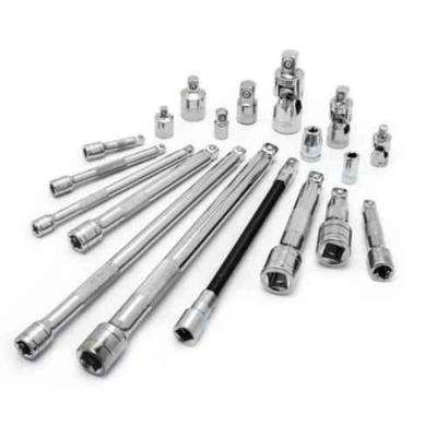 1/4 in., 3/8 in. and 1/2 in. Drive Accessory Set (19-Piece)