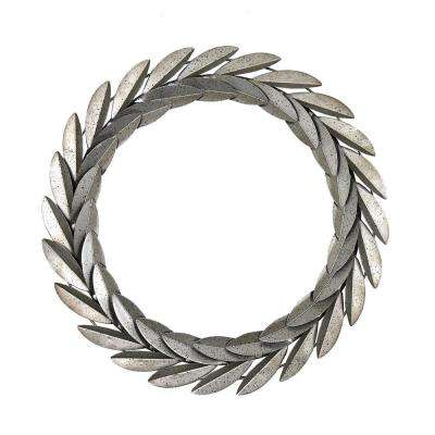 Passey Pewter Metal Wreath