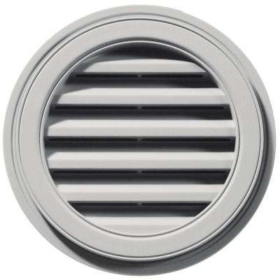 18 in. Round Gable Vent in Paintable