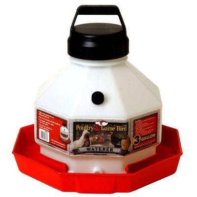 3 gal. Plastic Poultry Fountain