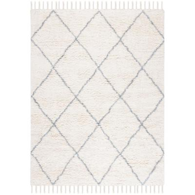 Safavieh Casablanca Blue Ivory 8 Ft X 10 Ft Area Rug Csb951m 8 The Home Depot