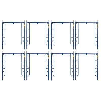 Saferstack 6.4 ft. x 5 ft. Mason Walk-Through Arch Scaffold Frame (8-Pack)
