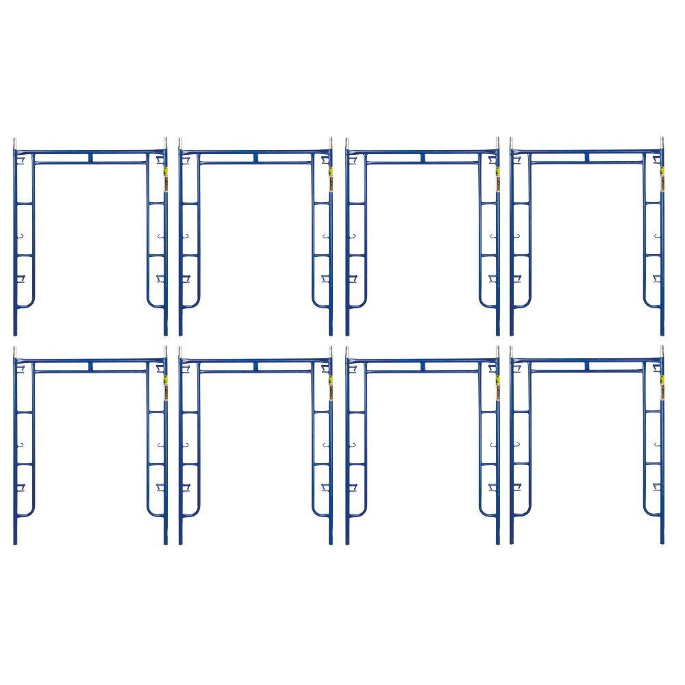 Saferstack 6.4 ft. x 5 ft. Mason Walk-Through Arch Scaffold Frame