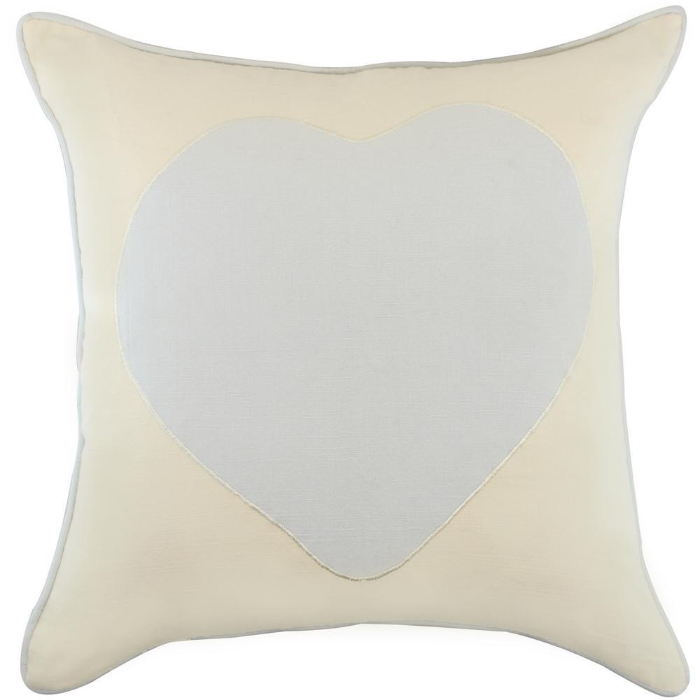 American Colors Appliqued Heart Pillow