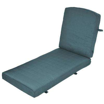 Oak Cliff Charleston Replacement 2-Piece Outdoor Chaise Lounge Cushion