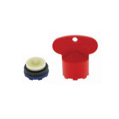 2.2 GPM Junior Size PCA Cache Aerator with Key