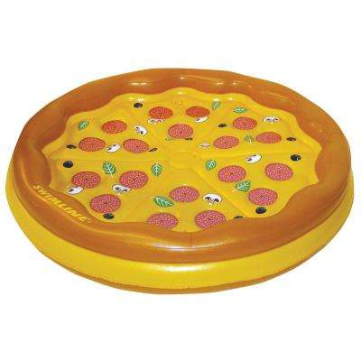 70 in. Personal Pizza Island Pool Float