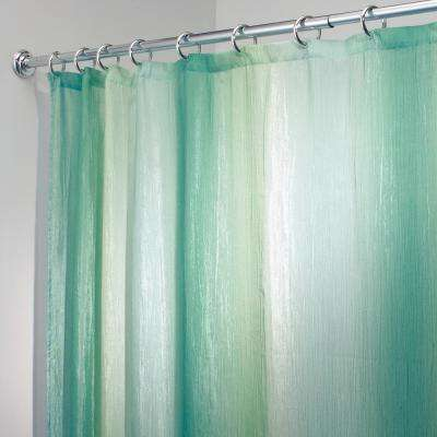 Ombre Print Shower Curtain in Blue/Green