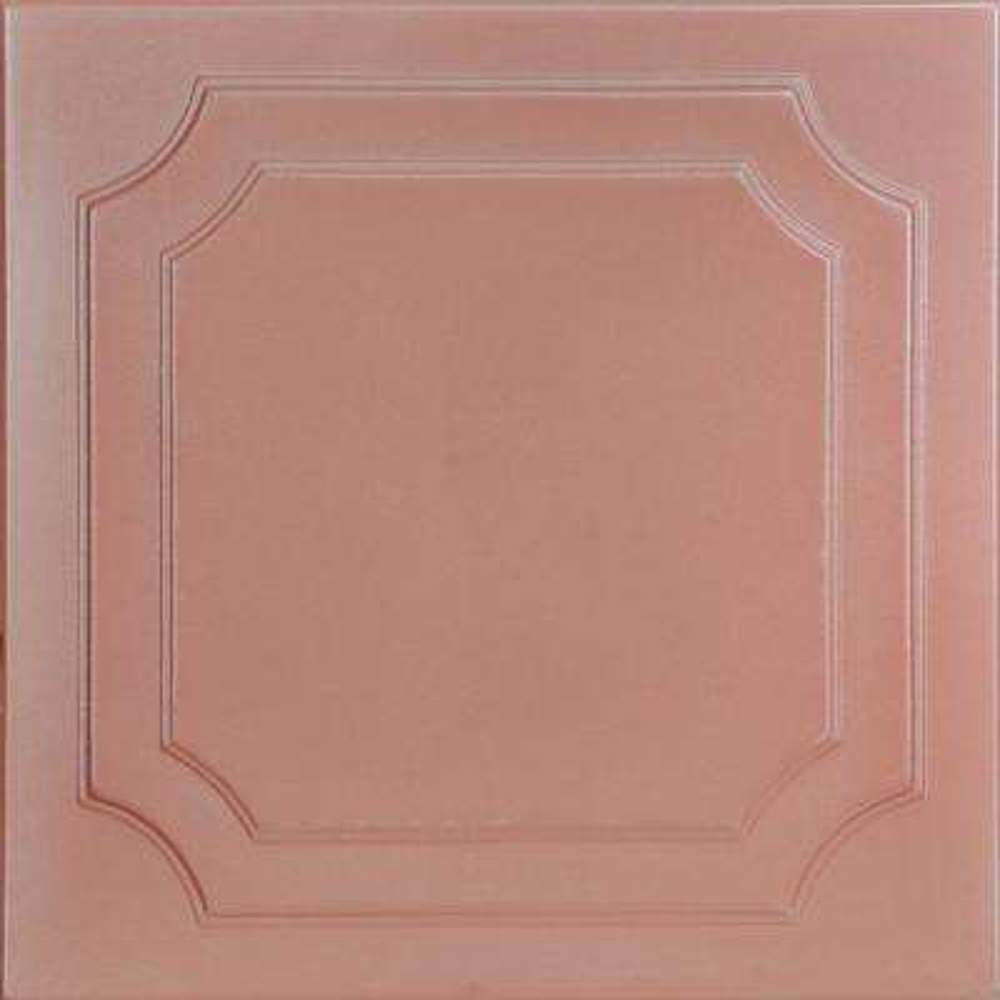 Virginian 1.6 ft. x 1.6 ft. Foam Glue-up Ceiling Tile in Tea Room