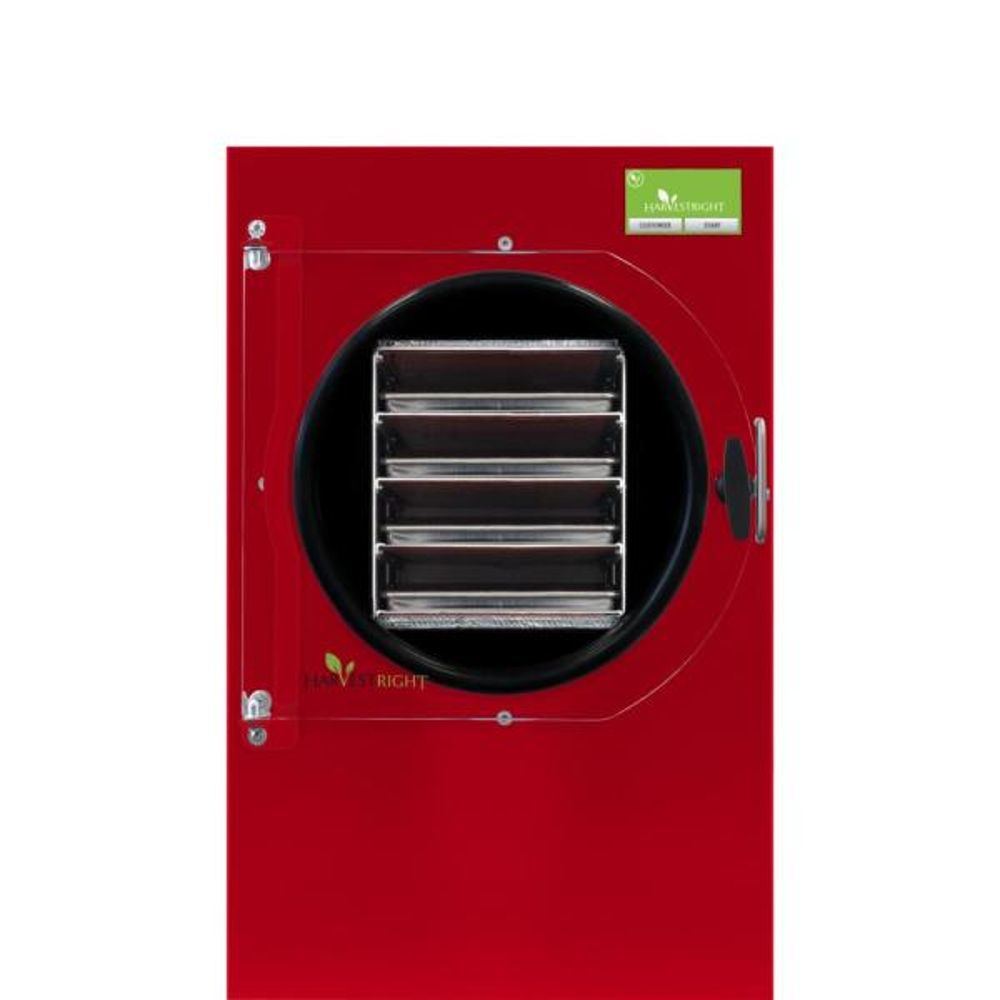 4-Tray Medium Red Freeze Dryer with Mylar Starter Kit