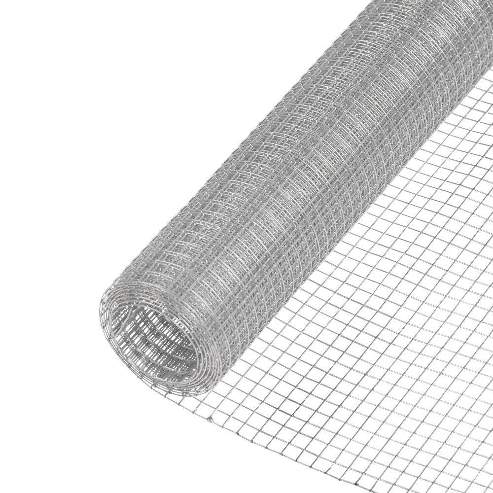 Everbilt 1/2 in. x 2 ft. x 5 ft. 19-Gauge Galvanized Steel Hardware Cloth