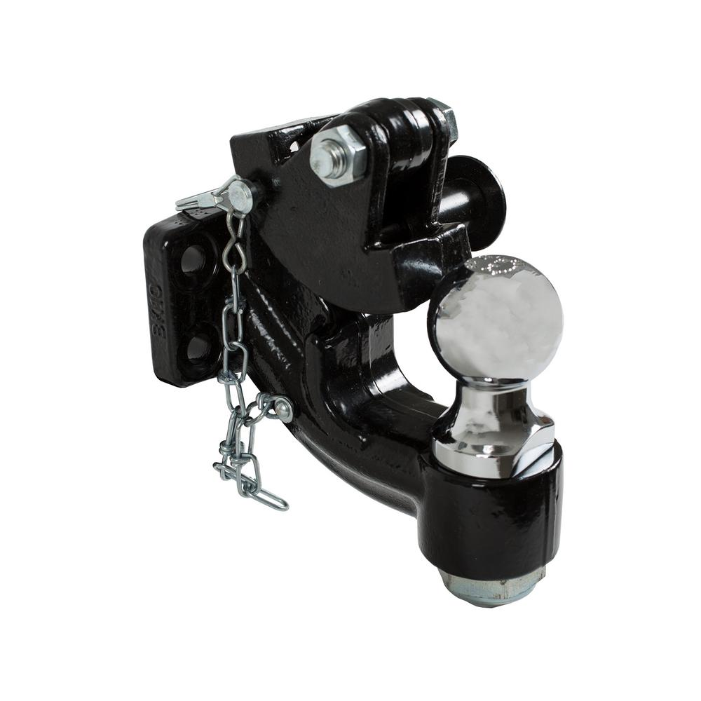 2-5/16 in. 10-Ton Chrome Combination Hitch Ball