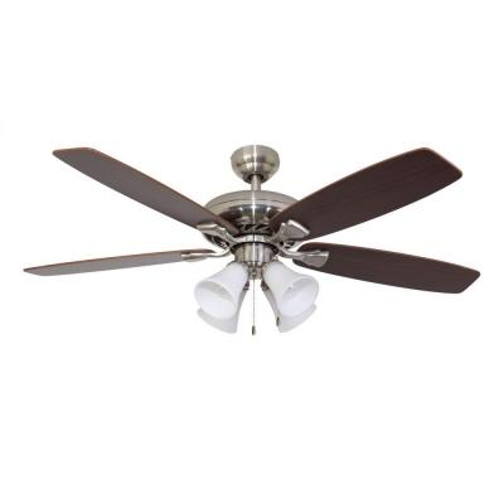 Ardmore 52 in. Brushed Nickel Ceiling Fan