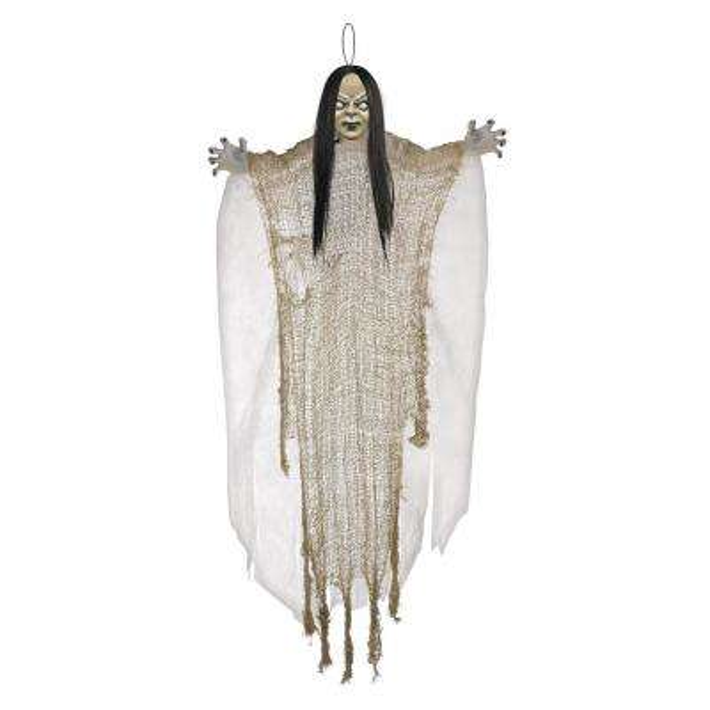 24 in. Halloween Hanging Creepy Girl (6-Pack)