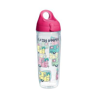 Simply Southern Classy Camper 24 oz. Clear Water Bottle