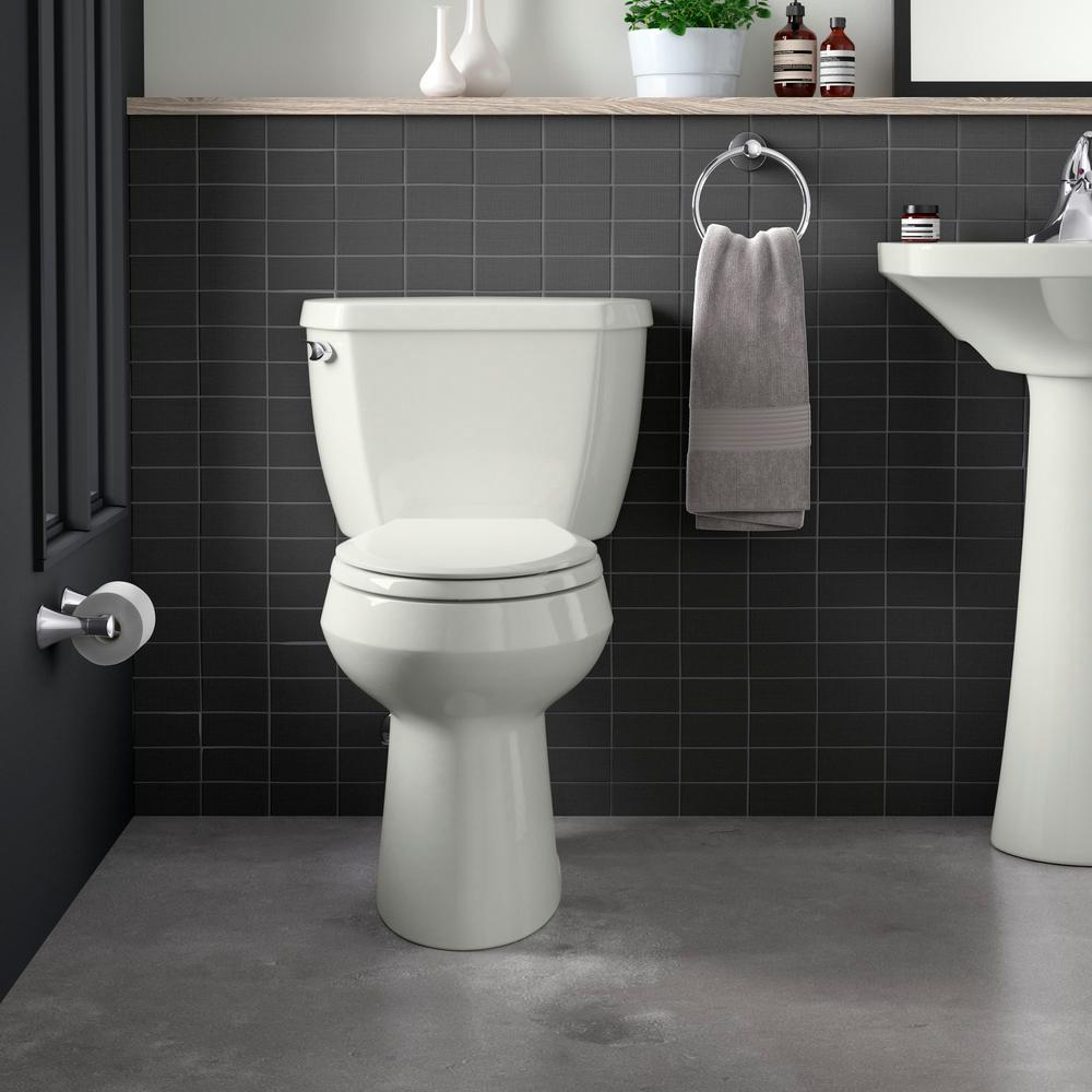 Fabulous Kohler Grip Tight Cachet Elongated Closed Front Toilet Seat In Dune Pdpeps Interior Chair Design Pdpepsorg