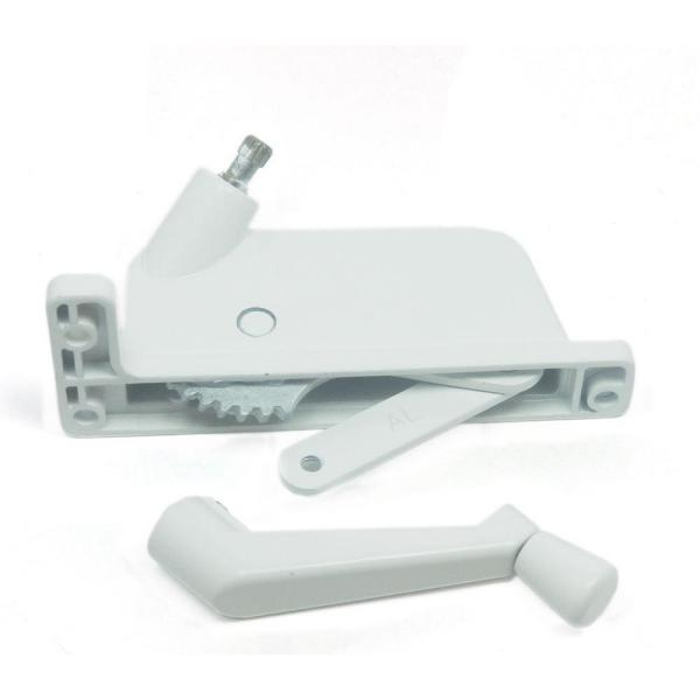 Keller/PGT 2-1/2 in. White Aluminum Left-Hand Awning Window Operator