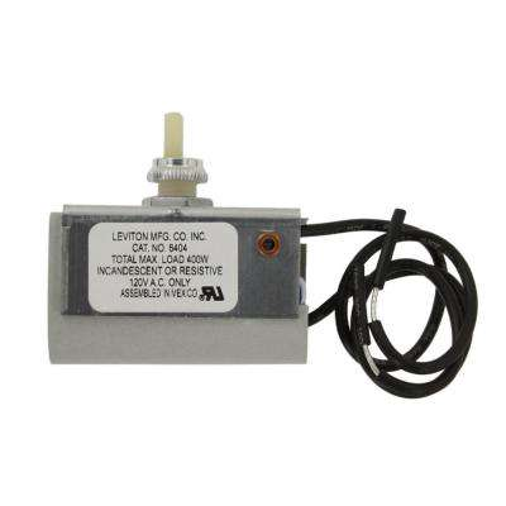 400 Watt Single Pole Incandescent Dimmer, Brown