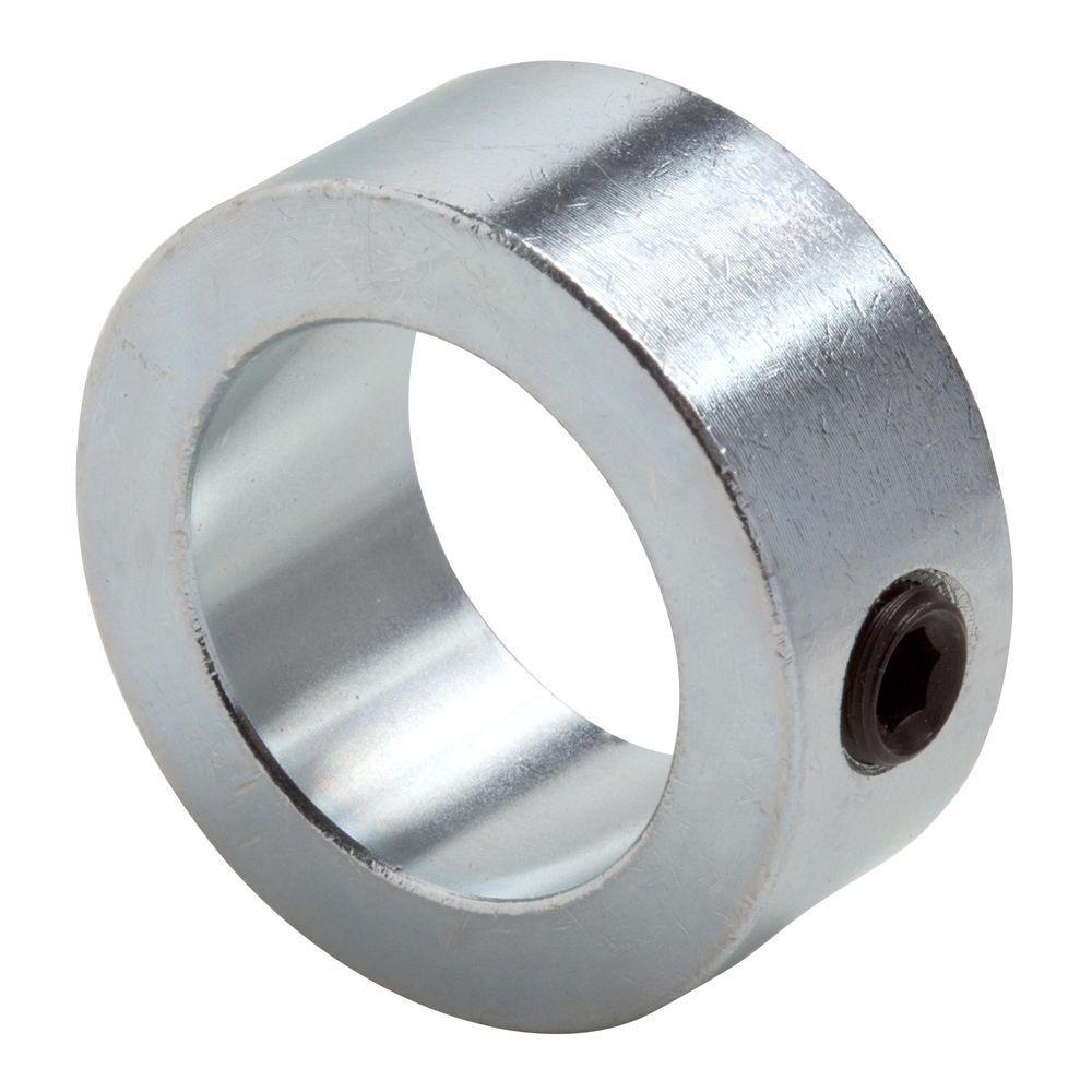 1-1/8 in. Bore Zinc-Plated Mild Steel Set Screw Collar