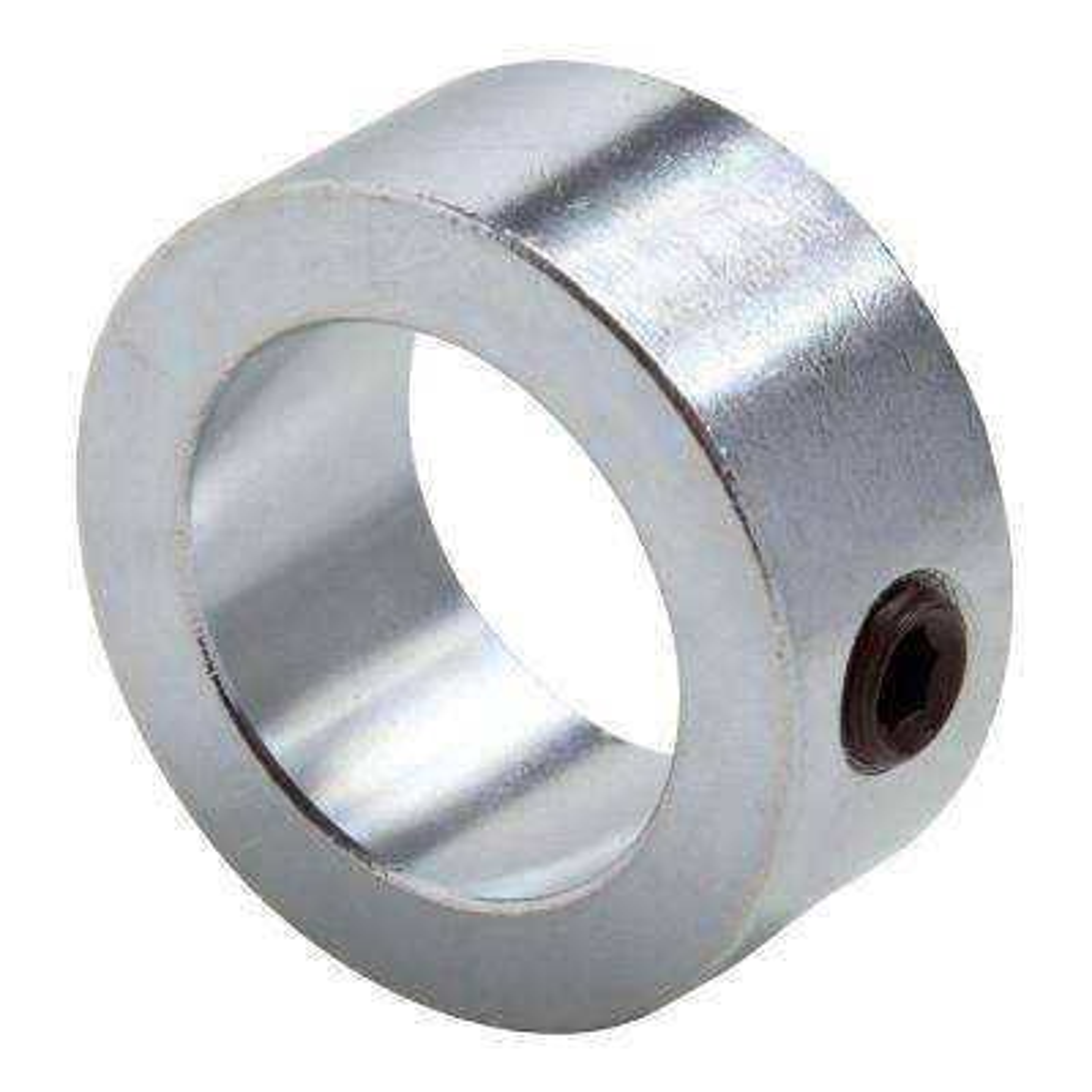1 in. Bore Zinc-Plated Mild Steel Set Screw Collar